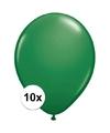 Qualatex ballonnen groen 10 stuks
