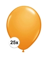 Qualatex ballonnen oranje 25 stuks
