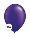 Qualatex ballonnen parel paars 15 stuks