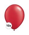 Qualatex ballonnen ruby rood 10 stuks