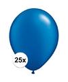 Qualatex ballonnen sapphire blauw 25 stuks