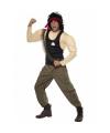 Rambo kostuum met spieren voor heren