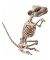 Rat muis skelet decoratiebeeldje 33 cm
