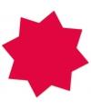 Reclame sterren neonroze 18 cm