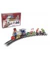 Rijdende kerst trein 15 delig