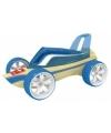 Roadster raceauto bamboe speelgoed auto 8 cm