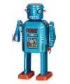 Robot 13 cm blauw
