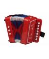 Rode accordeon voor kinderen
