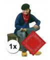 Rode boeren bandana zakdoek