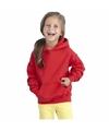 Rode capuchon sweater voor meisjes