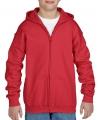 Rode capuchon vest voor jongens