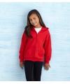 Rode capuchon vest voor meisjes