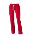 Rode dames joggingbroek vintage