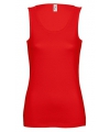 Rode dames tanktop