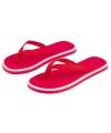 Rode dames teenslippers