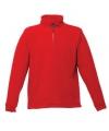 Rode grote maten fleece trui thor