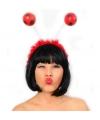 Rode haarband lieveheersbeestje
