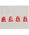Rode kerstbel hanger