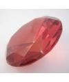 Rode kristallen diamant 10 cm