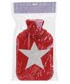 Rode kruik met witte ster