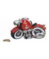 Rode motor spaarpot 21 cm