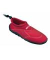 Rode neopreen surf en waterschoen voor dames