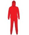 Rode onesie voor kinderen