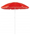 Rode parasol van nylon