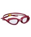 Rode pvc zwembril voor volwassenen