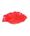 Rode serveer schaal 32 cm
