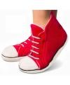 Rode sneaker pantoffels voor dames