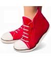 Rode sneaker pantoffels voor heren