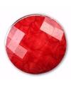 Rode steen chunk 1 8 cm