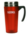 Rode thermosbeker 425 ml
