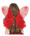 Rode vlinder vleugels voor kinderen