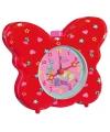Rode vlinder wekker prinses lillifee
