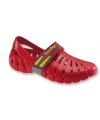 Rode waterschoenen voor dames