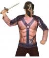 Romeins verkleed shirt voor heren