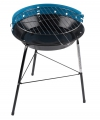Ronde barbecue grill blauw