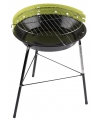 Ronde barbecue grill groen