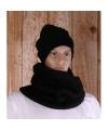 Ronde sjaal north wick zwart