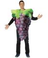 Rood druiven kostuum voor dames en heren