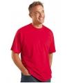 Rood grote maten t shirt 3xl