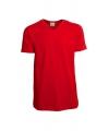 Rood heren t shirt met v hals