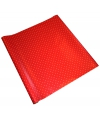 Rood inpakpapier met witte stippen 200 x 70 cm