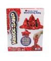 Rood magisch zand met glitters 454 gram