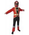 Rood power ranger kostuum voor kinderen