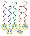 Rotorspiralen peace teken 5 stuks