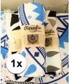 Roundie strandlaken blauw 150 cm