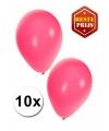 Roze ballonnen 10 stuks